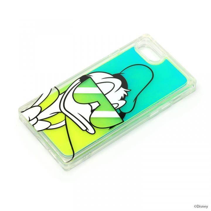 iPhone8/7 ケース ネオンサンドケース ディズニー ドナルドダック iPhone SE 第2世代/8/7_0