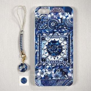 アジルジャパントレーディング アートケース ブルー iPhone SE/5s/5ケース