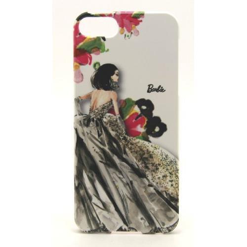 iPhone SE/5s/5 ケース バービーケース BKドレス/フラワーWH iPhone5_0