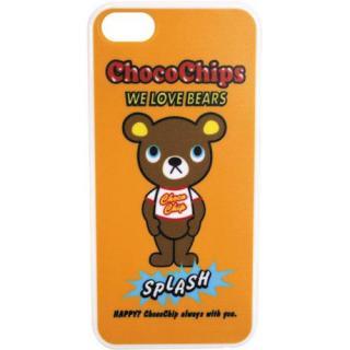 iPhone SE/5s/5 ケース デザインケース チョコチップベアオレンジ iPhone SE/5s/5ケース