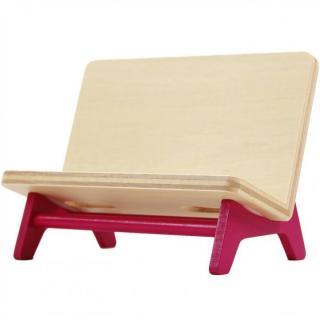 木製携帯スタンド ベンチ ピンク