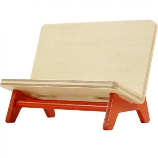 木製携帯スタンド ベンチ オレンジ