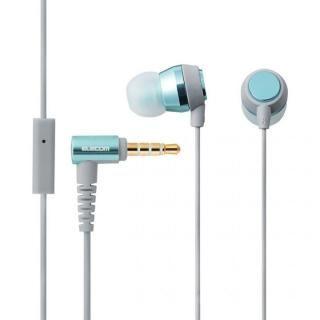 [5月特価]スマートフォン用ステレオヘッドホンマイク Girls カジュアル ブルー/グレー