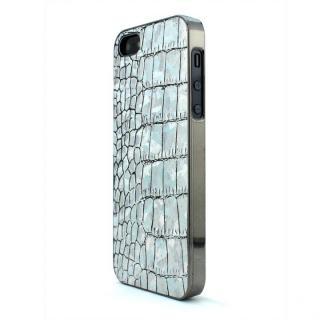 GAZE Back Cover クロコダイル柄ホログラム iPhone SE/5s/5ケース