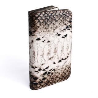 GAZE ヘビ柄ブラック iPhone SE/5s/5 手帳型ケース