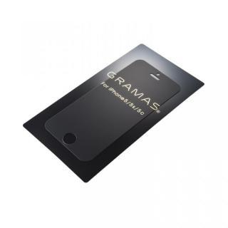 アンチグレア強化ガラス GRAMAS EXTRA iPhone SE/5s/5c/5