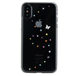Bling My Thing Papillon スワロフスキーケース コットンキャンディ iPhone X