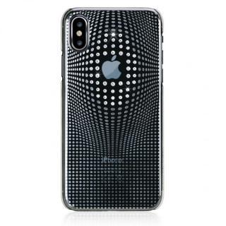 Bling My Thing Warp Deluxe スワロフスキーケース シルバー iPhone XS/X