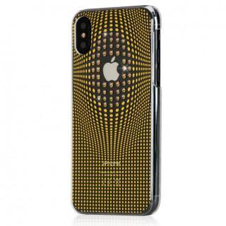 【iPhone XS/Xケース】Bling My Thing Warp Deluxe スワロフスキーケース ゴールド iPhone XS/X_1