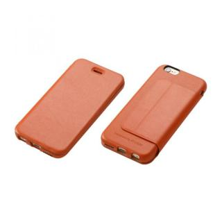 Deff 牛革手帳型ケース キャメル iPhone 6 Plus
