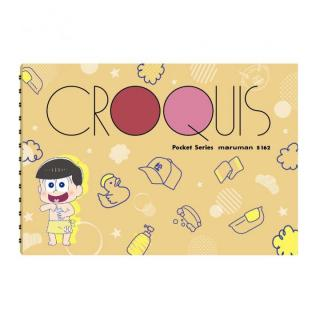 [新iPhone記念特価]おそ松さん ポケットクロッキー帳 十四松