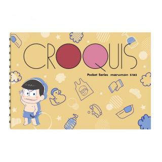 [新iPhone記念特価]おそ松さん ポケットクロッキー帳 カラ松