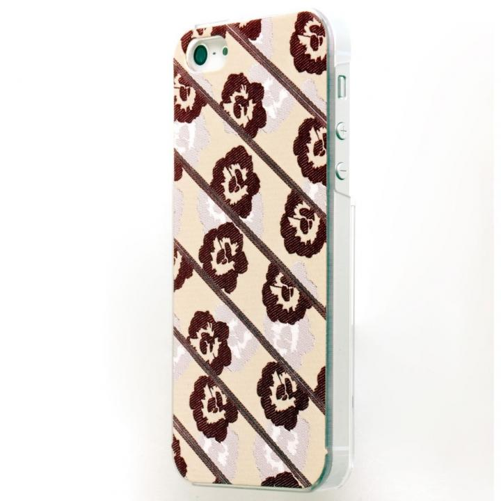 iPhone SE/5s/5 ケース EXTRA PREVIEW LABEL イロオリ HUBERT FLOWER RED iPhone SE/5s/5ケース_0