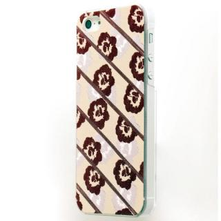 EXTRA PREVIEW LABEL イロオリ HUBERT FLOWER RED iPhone SE/5s/5ケース