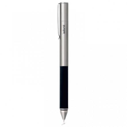 『Jot Flip(Dampening)』 スマートフォン用ボールペン付タッチペン シルバー