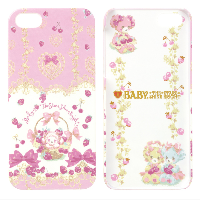 iPhone SE/5s/5 ケース iPhone SE/5s/5 BABY THE STARS SHINE BRIGHT(いちごとレースのミルフィーユ)_0