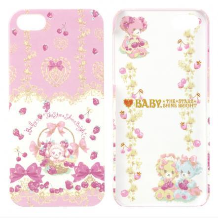 iPhone SE/5s/5 BABY THE STARS SHINE BRIGHT(いちごとレースのミルフィーユ)