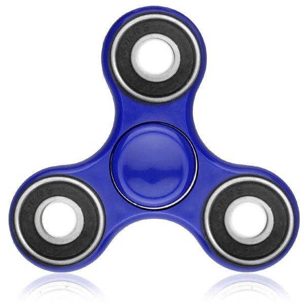 海外で爆発的人気のハンドスピナー B-Spinner ブルー_0