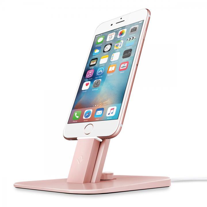 充電スタンド Twelve South HiRise Deluxe for iPhone/iPad ローズゴールド_0