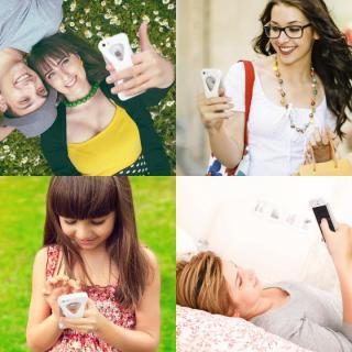 【iPhone SE/5s/5ケース】Palmo 落下防止シリコンケース レッド iPhone SE/5s/5c/5_3