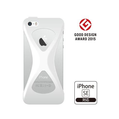 iPhone SE/5s/5 ケース Palmo 落下防止シリコンケース ホワイト iPhone SE/5s/5c/5_0