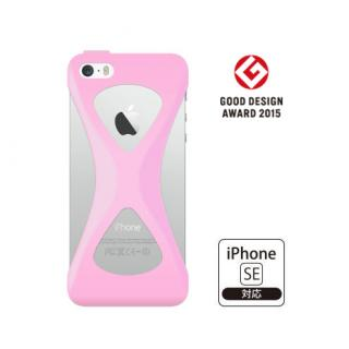 iPhone SE/5s/5 ケース Palmo 落下防止シリコンケース ライトピンク iPhone SE/5s/5c/5