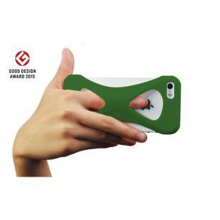【iPhone SE/5s/5ケース】Palmo 落下防止シリコンケース グリーン iPhone SE/5s/5c/5_2