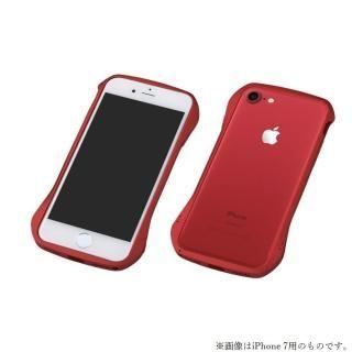 iPhone8 Plus/7 Plus ケース Deff Cleave アルミバンパー レッド/レッド iPhone 8 Plus/7 Plus