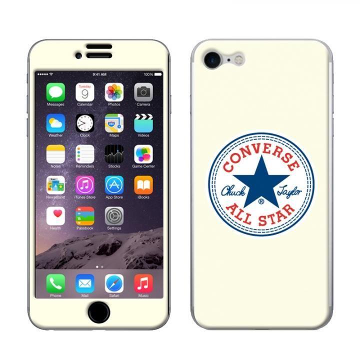 iPhone8/7 ケース CONVERSE(コンバース) スキンシール WHITE iPhone 8/7_0
