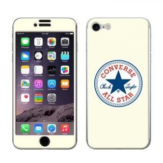 iPhone8/7 ケース CONVERSE(コンバース) スキンシール WHITE iPhone 8/7【10月下旬】