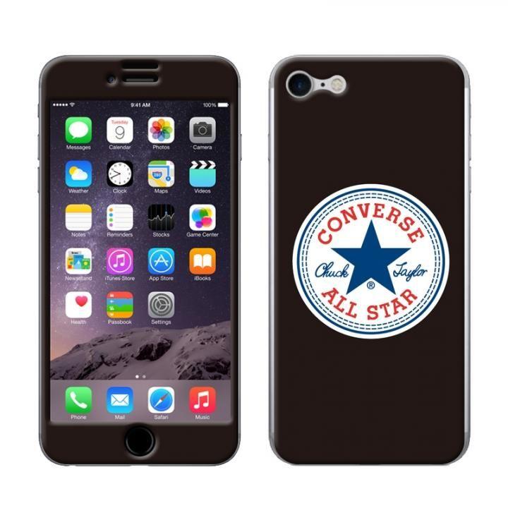 CONVERSE(コンバース) スキンシール BLACK iPhone 8/7【5月下旬】