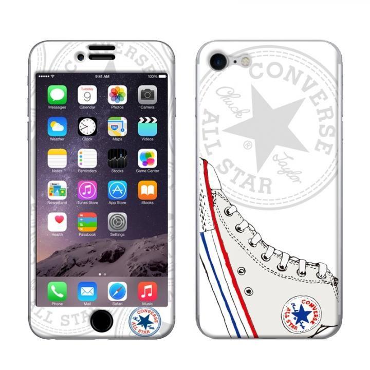 iPhone8/7 ケース CONVERSE(コンバース) スキンシール Sneaker LOGO WH iPhone 8/7【7月上旬】_0