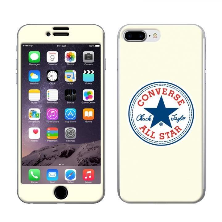 iPhone8 Plus/7 Plus ケース CONVERSE(コンバース) スキンシール WHITE iPhone 8 Plus/7 Plus【9月上旬】_0