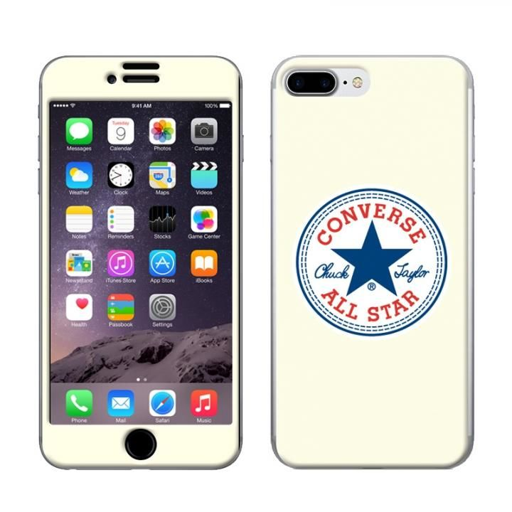iPhone8 Plus/7 Plus ケース CONVERSE(コンバース) スキンシール WHITE iPhone 8 Plus/7 Plus【11月下旬】_0