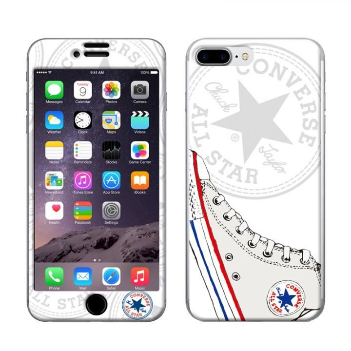 iPhone8 Plus/7 Plus ケース CONVERSE(コンバース) スキンシール Sneaker LOGO WH iPhone 8 Plus/7 Plus【3月下旬】_0