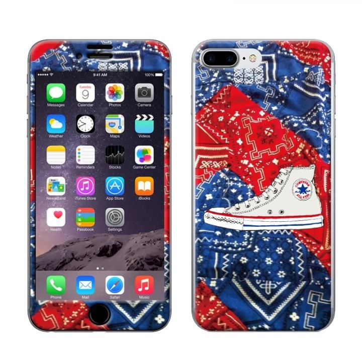 iPhone8 Plus/7 Plus ケース CONVERSE(コンバース) スキンシール 2017AWBANDANA iPhone 8 Plus/7 Plus_0