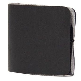 AMARIO AA 二つ折り財布 ブラック_0