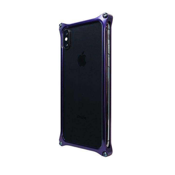 iPhone XS/X ケース 【AppBank Store オリジナル】ソリッドバンパー ディープロイヤルパープル for iPhone XS/X_0