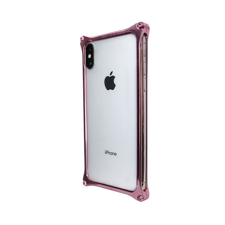 iPhone XS/X ケース 【AppBank Store オリジナル】ソリッドバンパー ローズゴールド  for iPhone XS/X_0