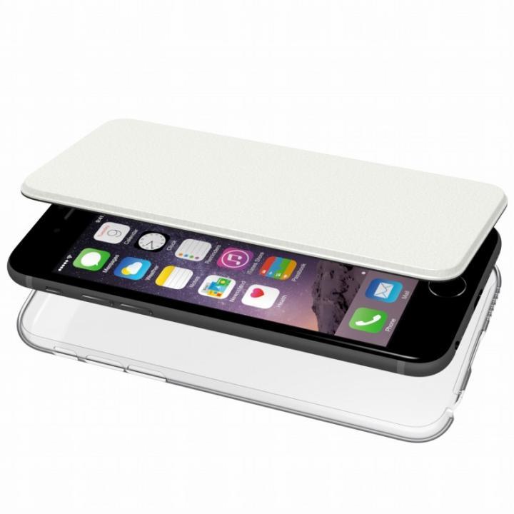 iPhone6s/6 ケース エアージャケット 手帳型ケース ホワイト iPhone 6s/6_0
