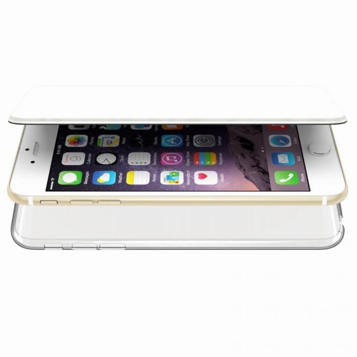 iPhone6s Plus/6 Plus ケース エアージャケット 手帳型ケース ホワイト iPhone 6s Plus/6 Plus_0
