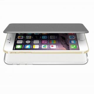 エアージャケット 手帳型ケース グレー iPhone 6s Plus/6 Plus