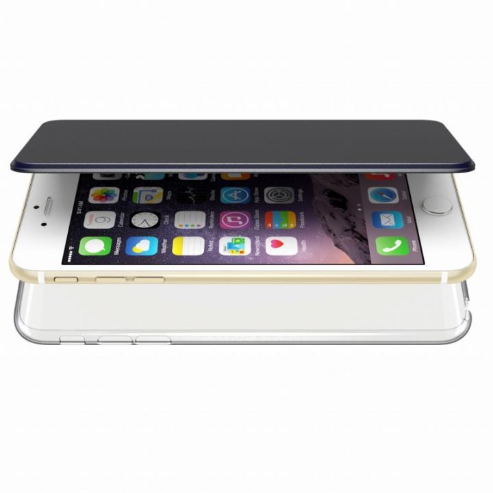 iPhone6s Plus/6 Plus ケース エアージャケット 手帳型ケース ブルー iPhone 6s Plus/6 Plus_0