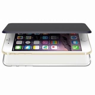 エアージャケット 手帳型ケース ブルー iPhone 6s Plus/6 Plus