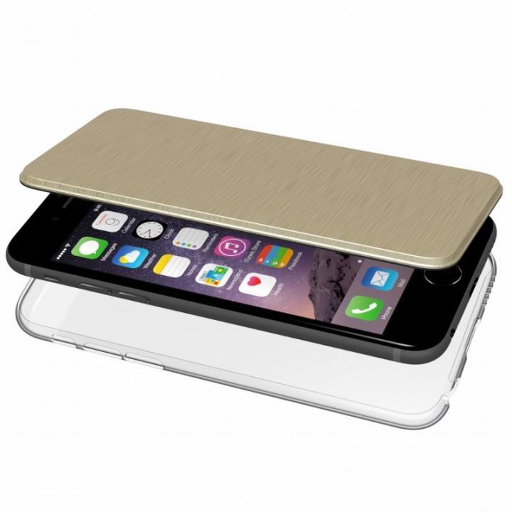 iPhone6s/6 ケース エアージャケット 手帳型ケース ゴールド iPhone 6s/6_0