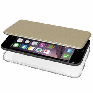 iPhone6s/6 ケース エアージャケット 手帳型ケース ゴールド iPhone 6s/6