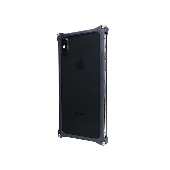 iPhone XS/X ケース 【AppBank Store オリジナル】ソリッドバンパー マットブラック for iPhone XS/X_0