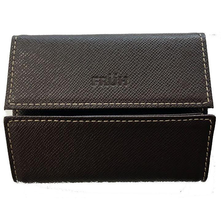 FRUH ミニマム財布 ブラウン_0
