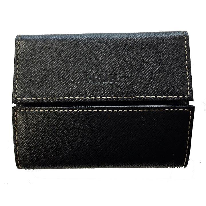 FRUH ミニマム財布 ブラック_0
