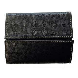FRUH ミニマム財布 ブラック【9月中旬】